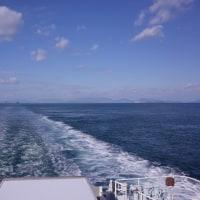 7日水曜日の船旅 松山へ