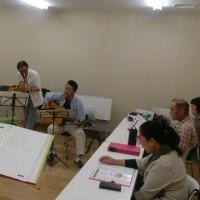 第15回北坂戸フォークソング歌会の風景