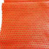 また市販の糸で綾織りしました