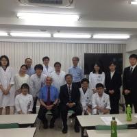 名古屋記念病院に伺いました。
