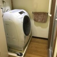 *新しい洗濯機*