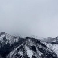 越後湯沢の雪景色がなんとなく…