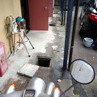 年に2回行うアパートの草刈と排水升の清掃
