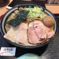 ららぽーとのつけ麺富田へ