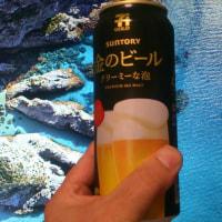 金のビールとSunny Shores