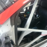 R8LMSの運転席