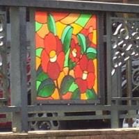 ☆橋の飾りと 青いタイル画その2