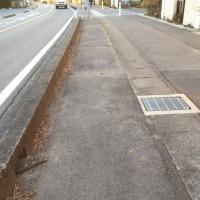 守谷県道の草刈りや歩道橋改修など、住民要求半歩前進。