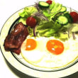 今日の朝食です(洋風)