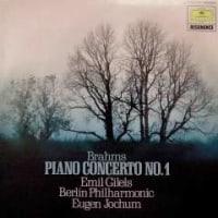 ◇クラシック音楽LP◇ギレリス&ヨッフム指揮ベルリン・フィルのブラームス:ピアノ協奏曲第1番