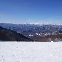 スノーシューはお預け、会津たかつえスキー場