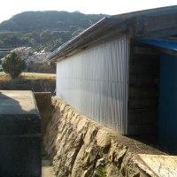 農具小屋の修理完了しました