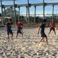 ビーチサッカー日本代表 コスタリカでトレーニング