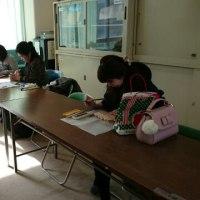 玉津第一小学校 木彫りクラブ11月28日