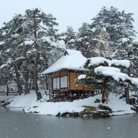 御薬園 楽寿亭 雪景色