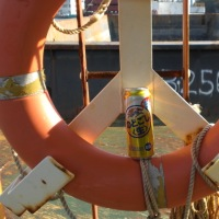 湾と釣りとビール