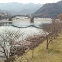 岩国城ロープウェイと錦帯橋