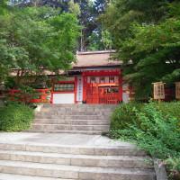 「二十二社巡り」大原野神社・西山連峰の南に位置する大原野神社は『延喜式』神名帳には式外社であるが、二二社に列せられている。