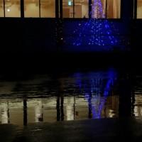 冷たい雨の朝、巷には・・・