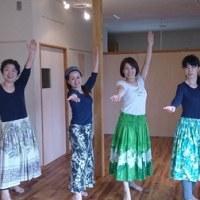 10月23日日曜日ツエ先生のダンスワークです。