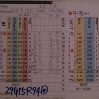 今日のゴルフ挑戦記(95)/東名厚木CC イン(A)→ウエスト