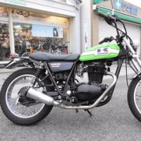 KAWASAKI 250TR LIME GREEN(BJ250F)
