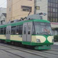 東急世田谷線の玉電110周年記念ラッピング車