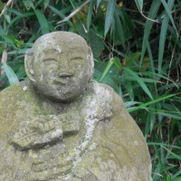 石仏の表情