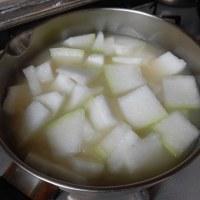 「冬瓜(とうがん)」のスープ・・・飯村直美料理教室