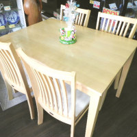 家具2割引きセール開催中 4人掛食卓がイス付で9,440円!
