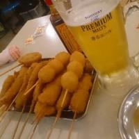 串カツ田中でホワイトデー
