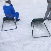 長沢茶屋の雪下ろし ~170㎝の雪対167㎝の人間の戦い~