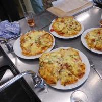 ワイン講座とピザ作り