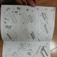 サザンクロスミニチュアの1/20W125到着 ENGINE水彩画はベルトーネを描きましたよ。