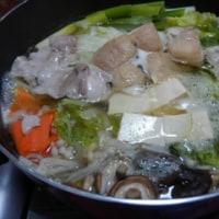 """""""鍋料理""""水炊き鍋"""