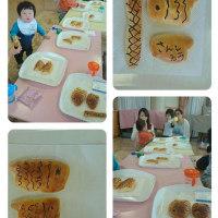 親子パン教室!
