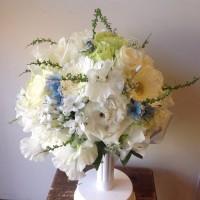 2月の花嫁様 スイートピーなど春の花