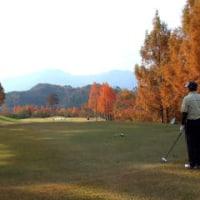 11/17 山梨のゴルフコンペに参加