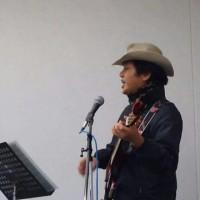 山木ジョージ_第15回『北坂戸ストリート☆パフォーマンス』の風景