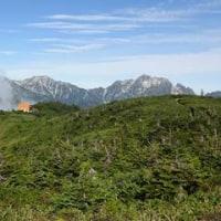 北アルプス「鹿島槍ヶ岳」に登る