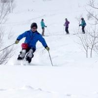 オフピステの滑り講習会アドバンス@鉱山跡