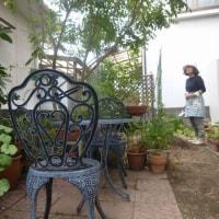 きょうは庭の手入れ(10月21日)