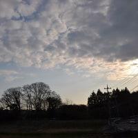 3月22日、午前6時~7時過ぎの空模様