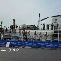 今日の撮影④~🎬  クォン・サンウ   チェ・ガンヒ主演『推理の女王』今朝7時から。烏耳島(オイド)撮影件が終了しました