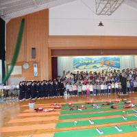両小野学園音楽会・・・園児・小学校・中学生の230人が体育館で披露・・保護者感動