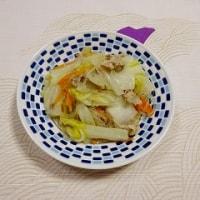 白菜、春雨炒め煮