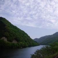 潮駅の朝~17年5月三江線旅行記その7