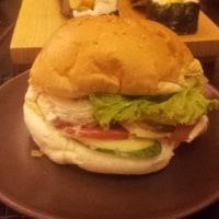 ホタテハンバーガー