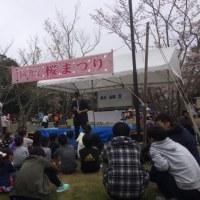 日産化学さんの桜まつりにてマジック♫