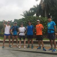 10月22日朝RUN会 上海マラソンに向けた調整!